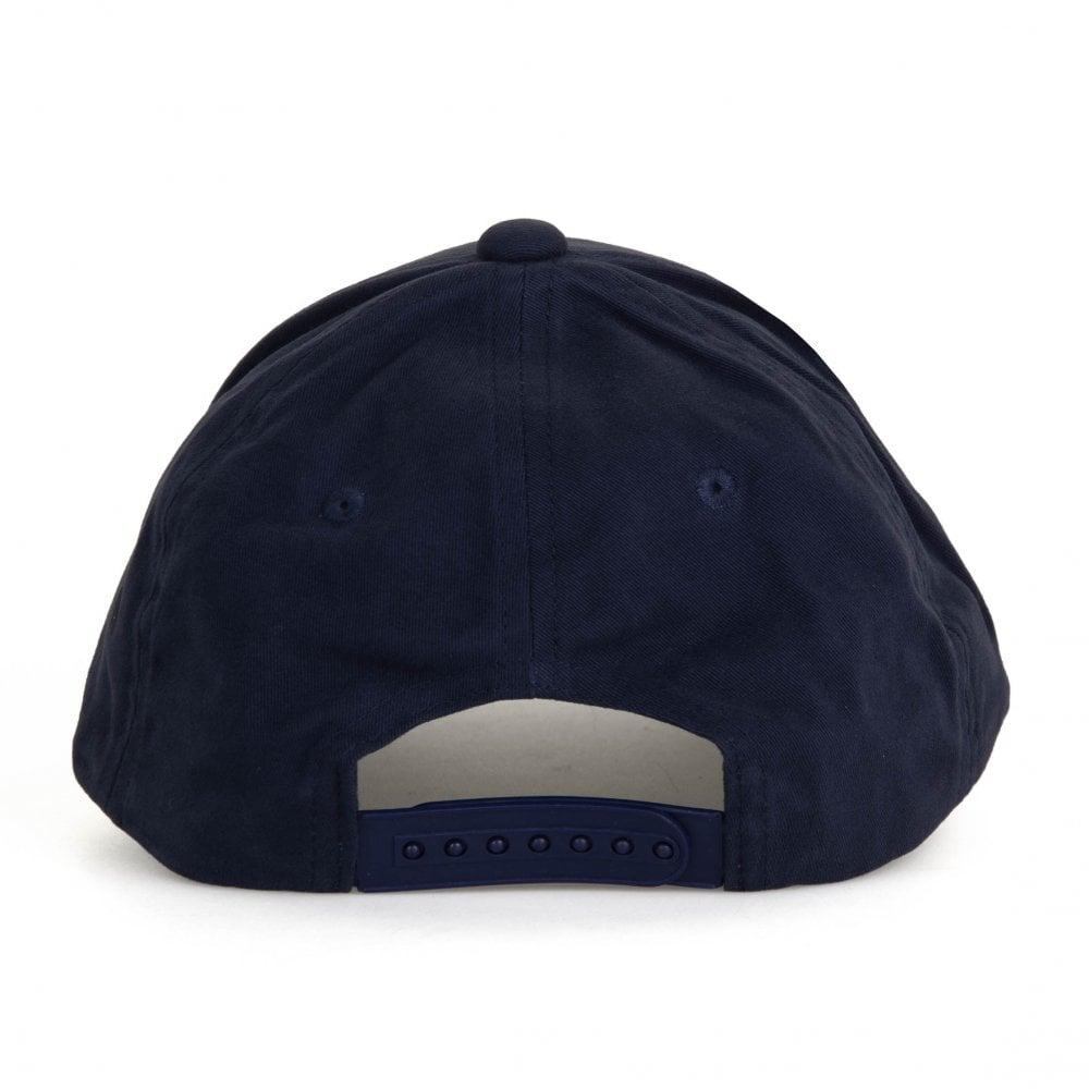 28f7eadf70e698 EA7 Mens Train Core Baseball Cap (Blue / Silver) - Mens from Loofes UK
