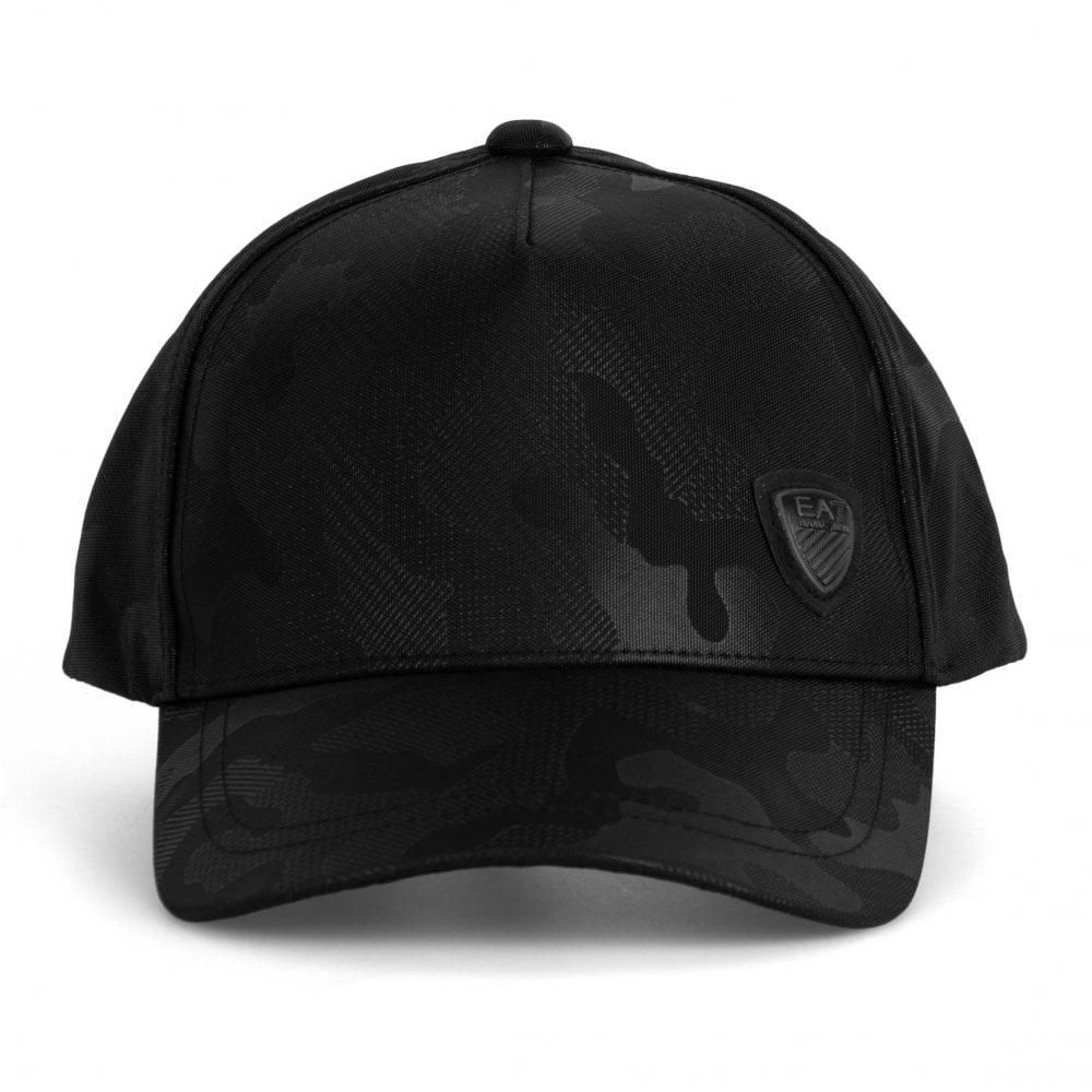 EA7 Mens Train Soccer Camouflage Cap (Black) - Mens from Loofes UK 951fa0bda33e