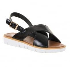 Ella Womens Anabelle Sandals (Black)