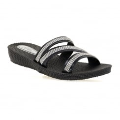 Ella Womens Grace Sandals (Black)