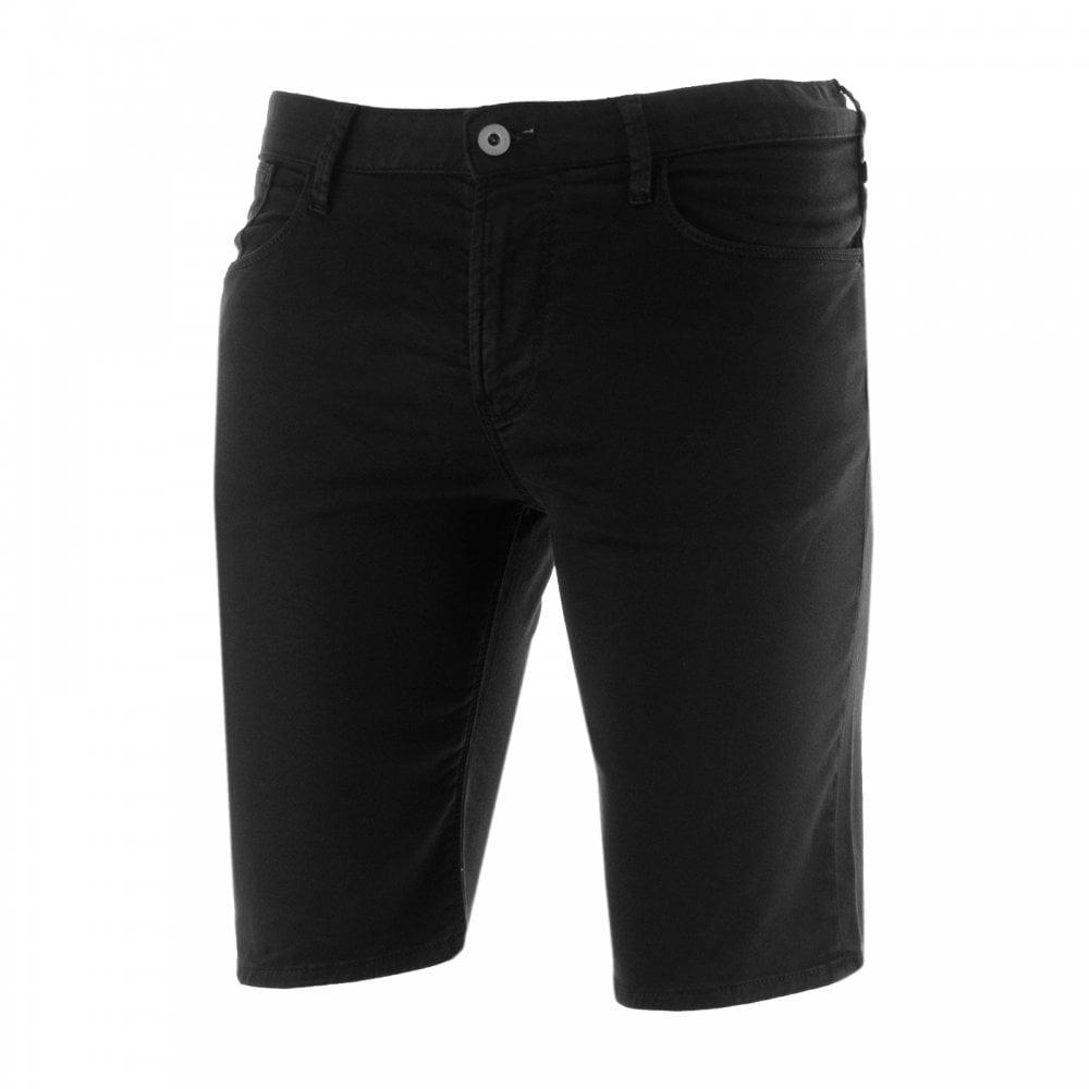 89458a775b1 EMPORIO ARMANI Emporio Armani Mens Chino Shorts (Black) - Mens from ...
