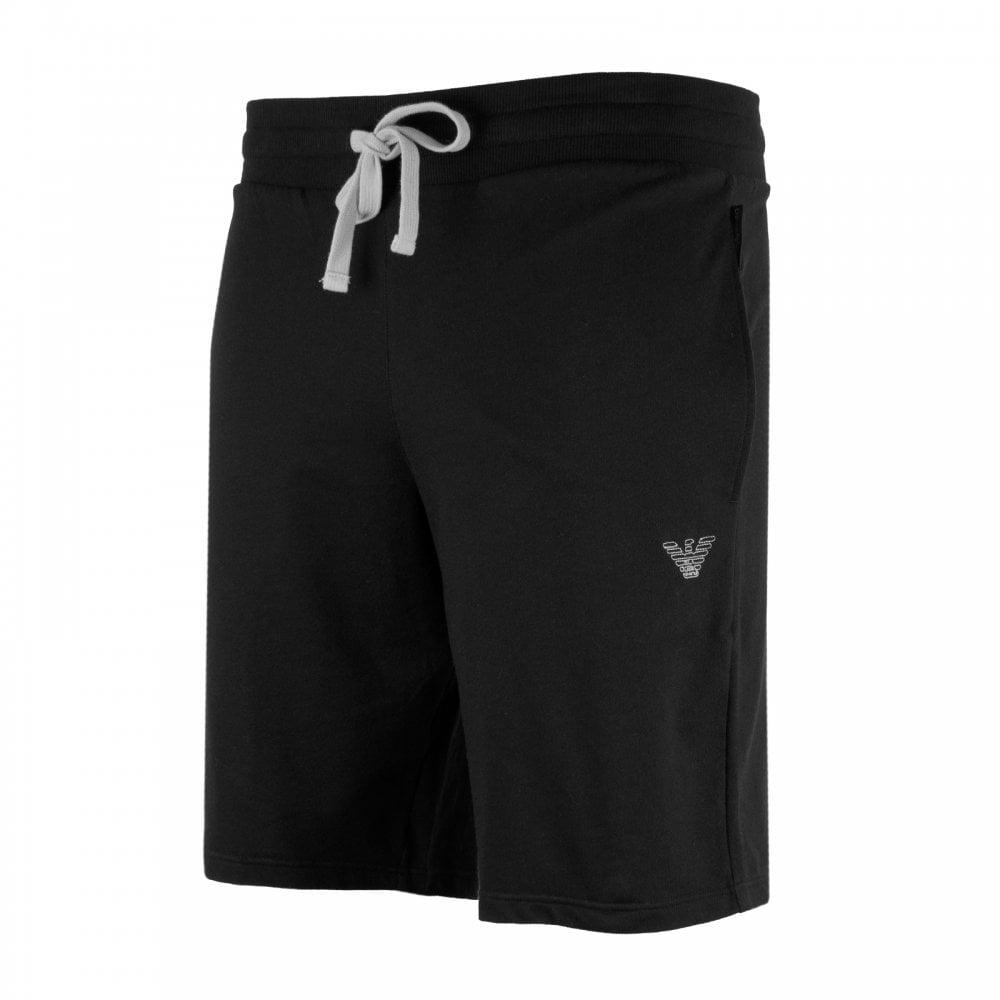 278f61d189c EMPORIO ARMANI Emporio Armani Mens Embroidered Logo Sweat Shorts ...