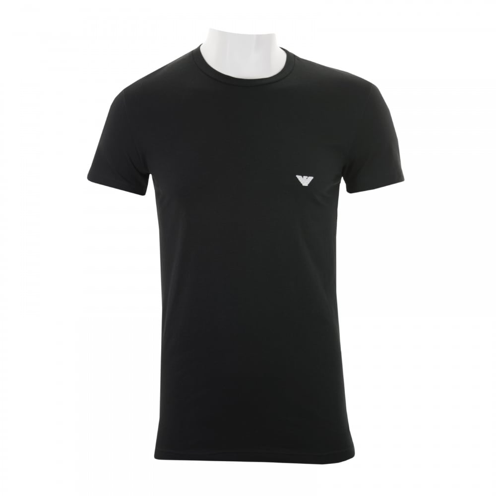 black t shirt armani