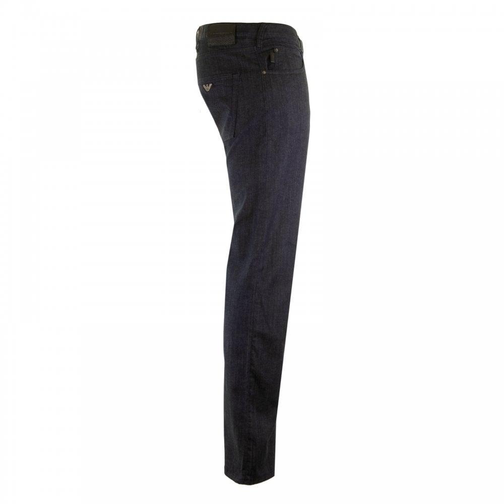 64b02e5f EMPORIO ARMANI Emporio Armani Mens J45 Regular Fit Jeans (Blue ...