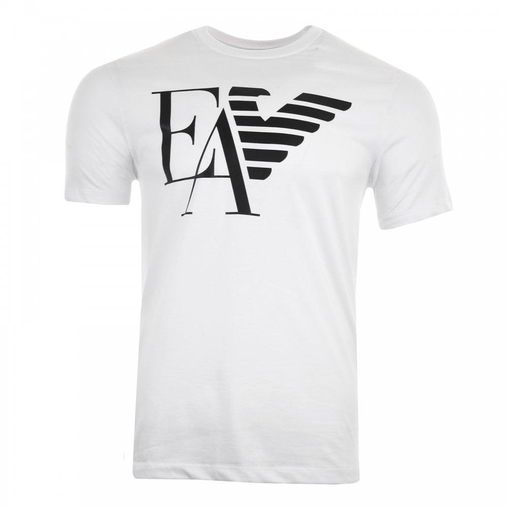 389fb9e2eb Mens Large Logo T-Shirt (White)