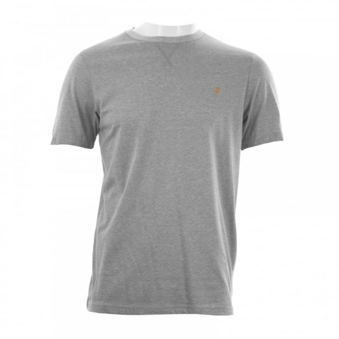 Farah Mens Newbury T-Shirt (Light Grey Marl)