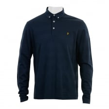 Farah Mens Stapleton Polo Shirt (True Navy)