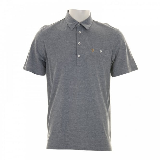 Farah Mens Tennyson Polo Shirt (True Navy)