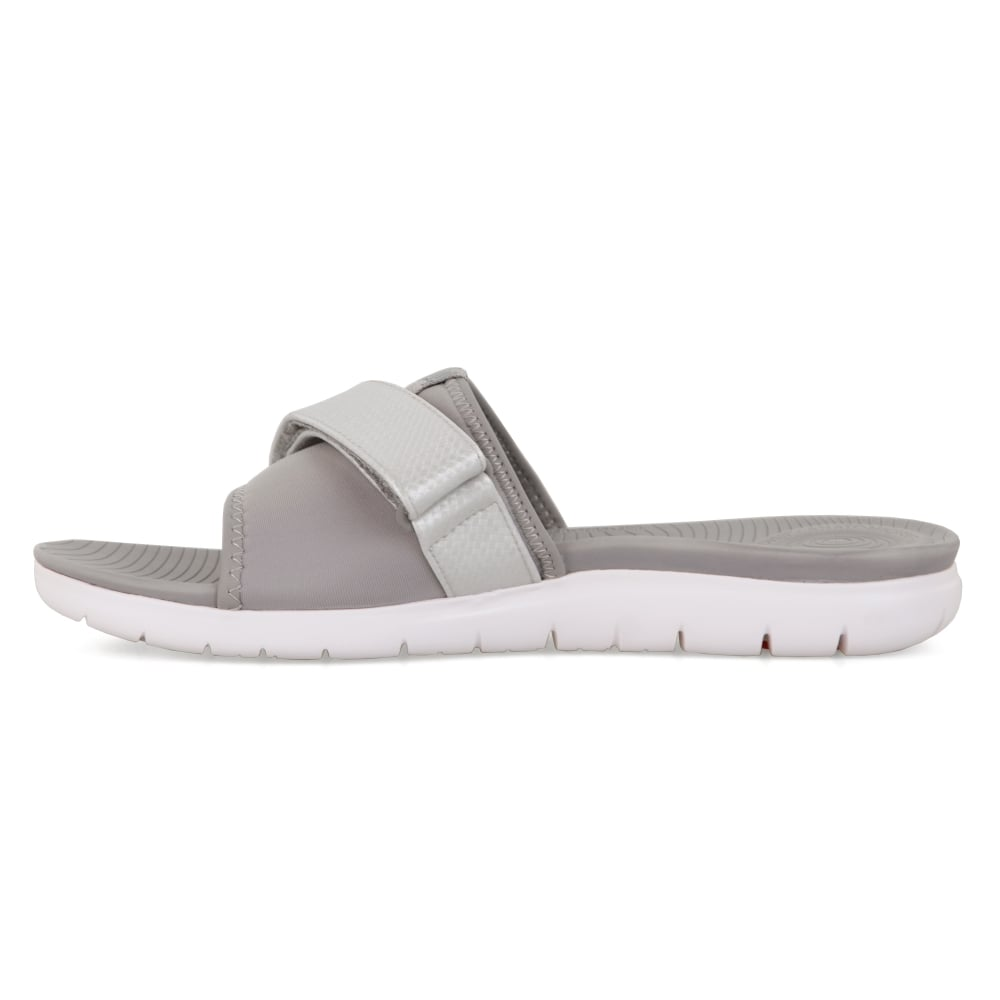 1eedd5564a8e FitFlop Womens Neoflex Slide Sandals (Grey) - Womens from Loofes UK