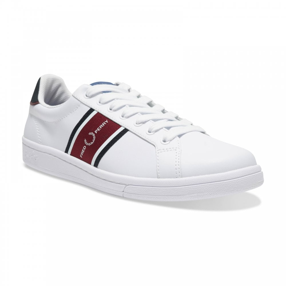 Fred Perry B721 Leather Webbing Trainer