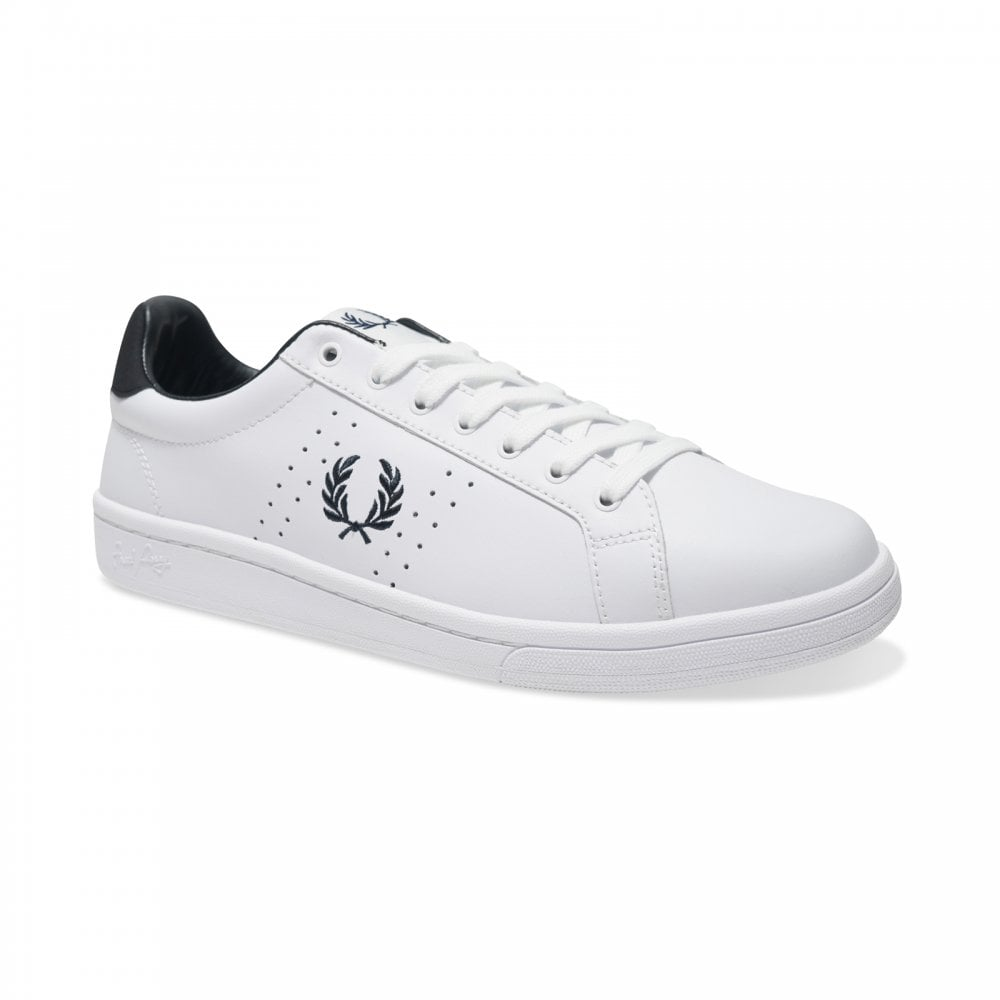 Fred Perry Mens B721 Leather Trainers