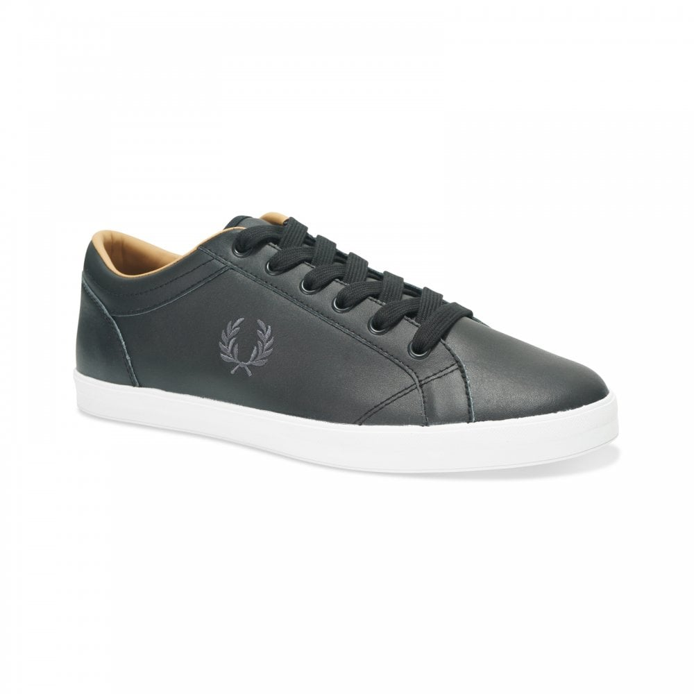 Fred Perry Mens Baseline Leather