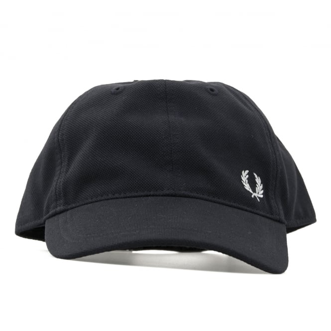 Fred Perry Mens Boiled Wool Baseball Cap (Navy)