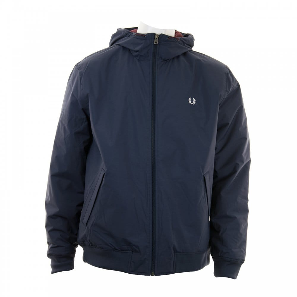 fred perry fred perry mens brentham quilted jacket navy. Black Bedroom Furniture Sets. Home Design Ideas