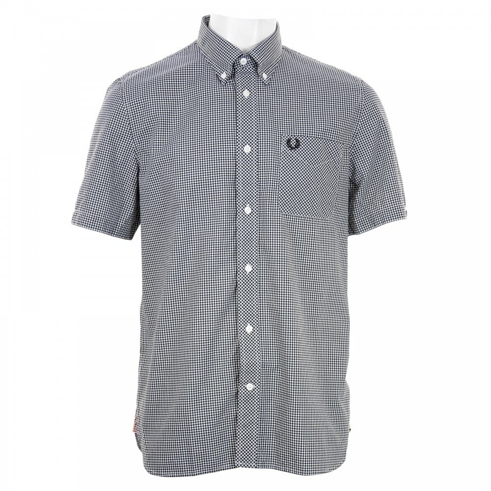 Fred perry fred perry mens classic gingham check shirt for Fred perry mens shirts sale