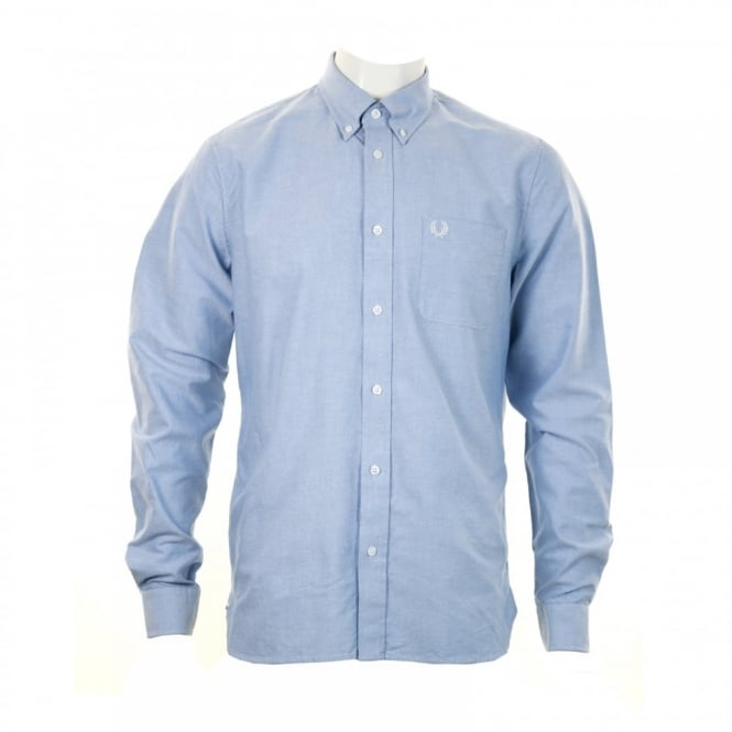 Fred Perry Mens Classic Oxford Shirt (Blue)