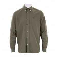 Fred Perry Mens Classic Oxford Shirt (Green)