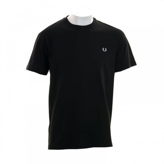 Fred Perry Mens Crew Neck T-Shirt (Black)