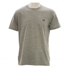 Fred Perry Mens Crew Neck T-Shirt (Grey)
