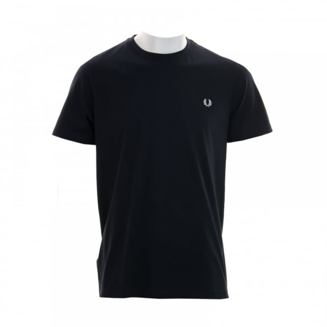 Fred Perry Mens Crew Neck T-Shirt (Navy)