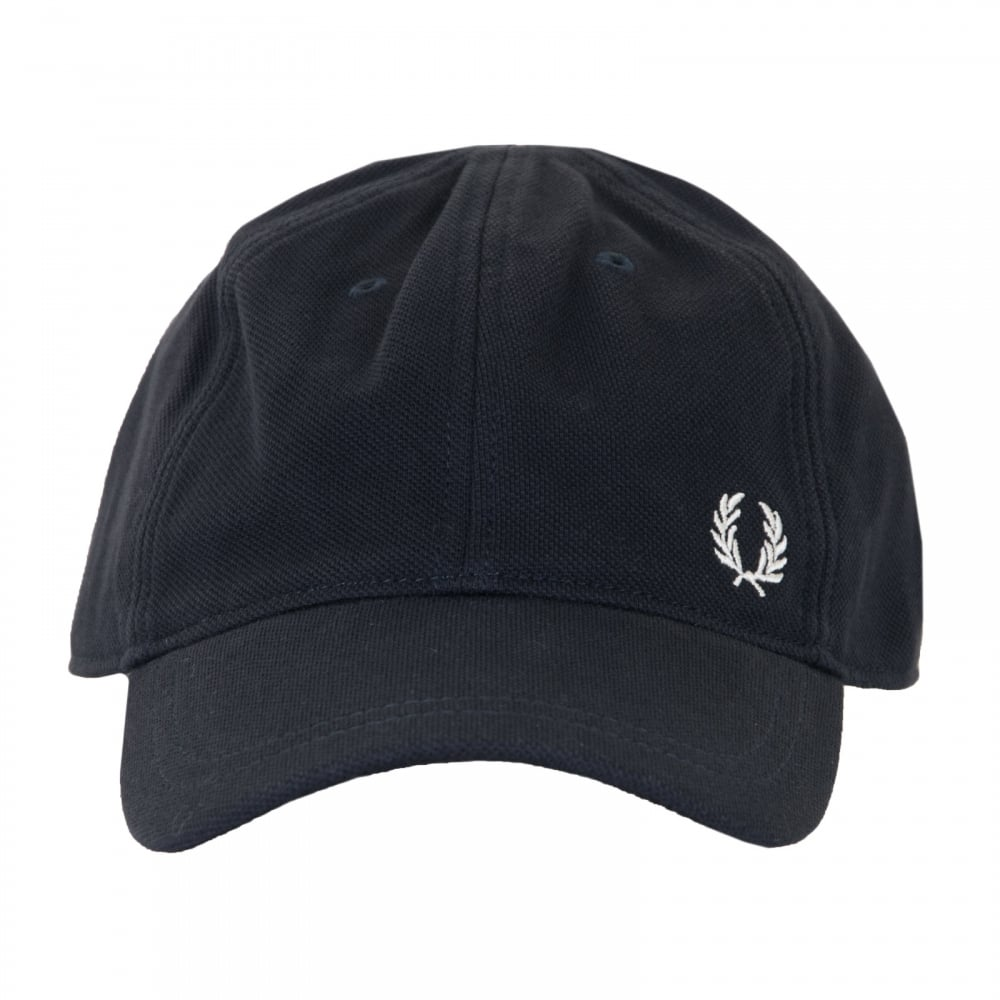 Fred Perry Mens Pique Classic Cap (Navy) - Mens from Loofes UK 59595dd7d6d2