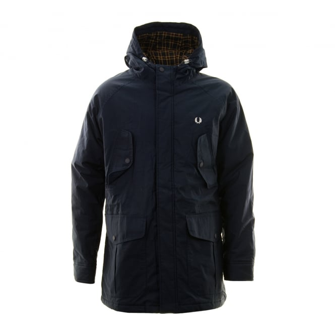 Fred Perry Mens Portwood Jacket (Navy)