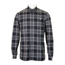Fred Perry Mens Regimental Tartan Shirt (Graphite)