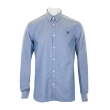 Fred Perry Mens Tape Detail Shirt (Navy)