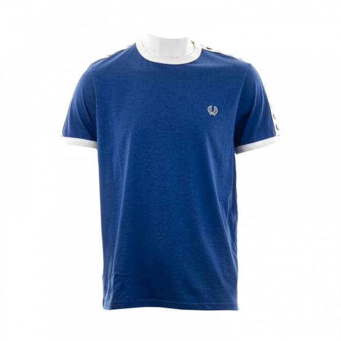 Fred Perry Mens Taped Ringer T-Shirt (Regal)