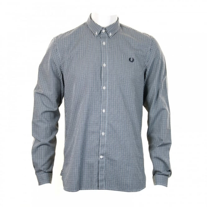 Fred Perry Mens Three Colour Shirt (Blue)