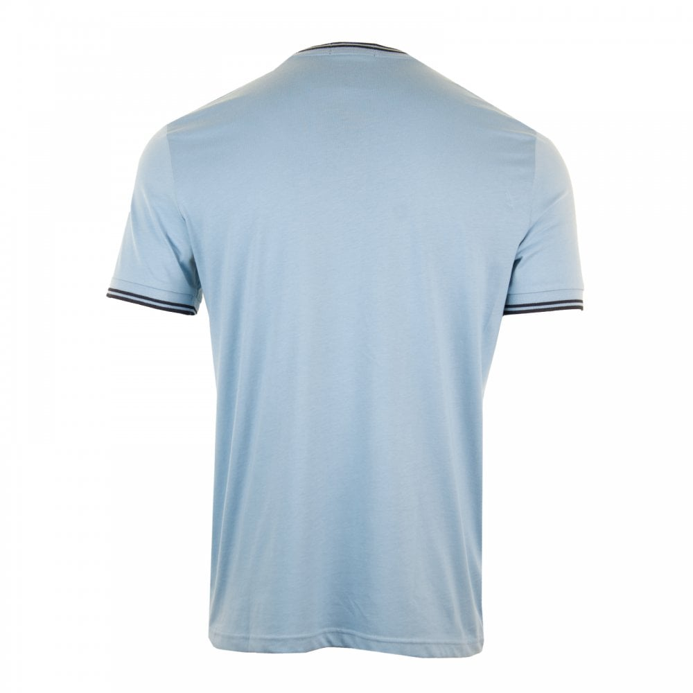 dbb03099502d Fred Perry Mens Twin Tipped T-Shirt (Sky) - Mens from Loofes UK