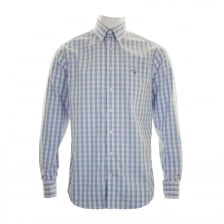 GANT Mens Easy Care Gingham Check Shirt (Pink)