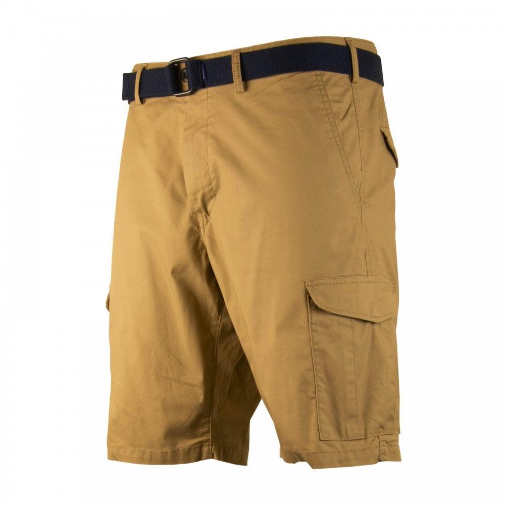 b9e25cf3feb0 GANT Mens Relaxed Belted Utility Shorts (Khaki) - Mens from Loofes UK