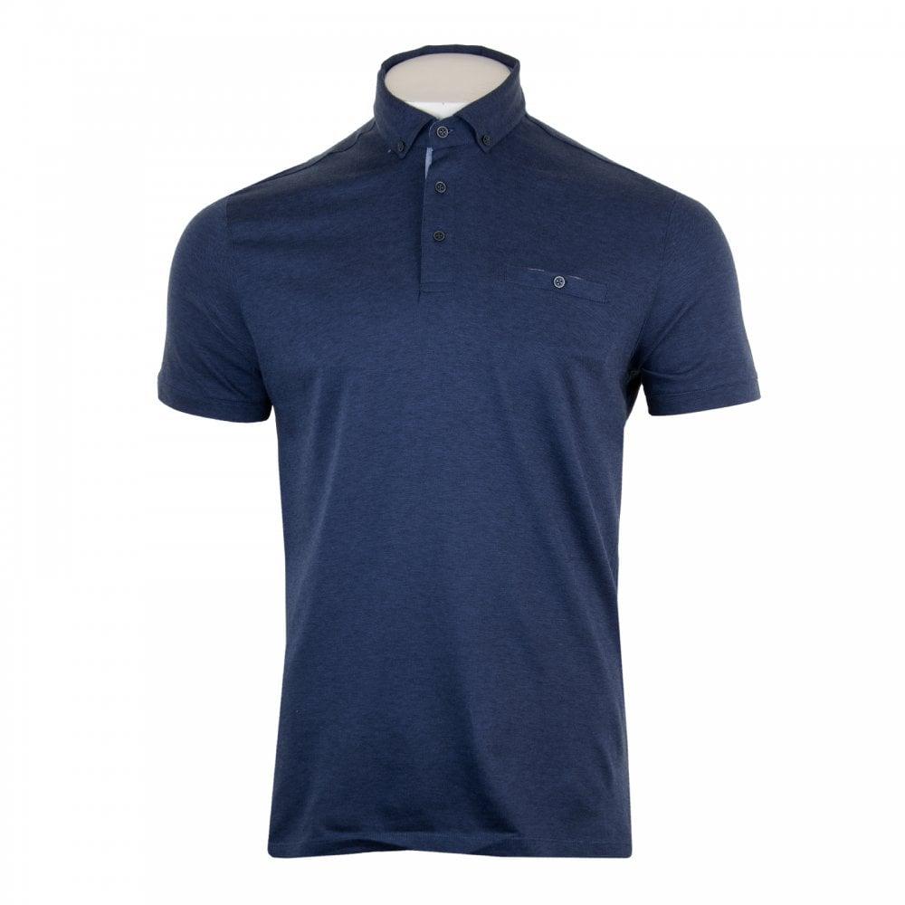 335178a68 GIORDANO Giordano Mens Casa Short Sleeved Polo Shirt (Navy) - Polo ...