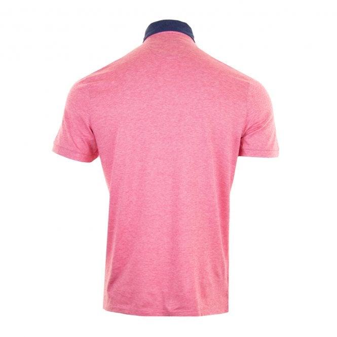 bbc1a38d2 GIORDANO Giordano Mens Casa Short Sleeved Polo Shirt (Pink) - Polo ...