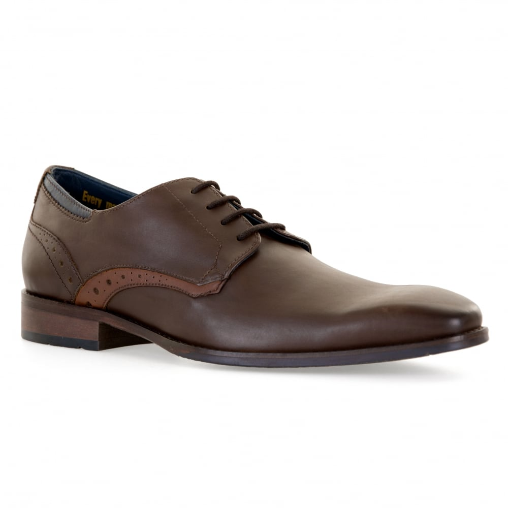 c0f9e36cde8392 ... Goodwin Smith Mens Barrow Derby Shoes Brown Mens from Loofes UK