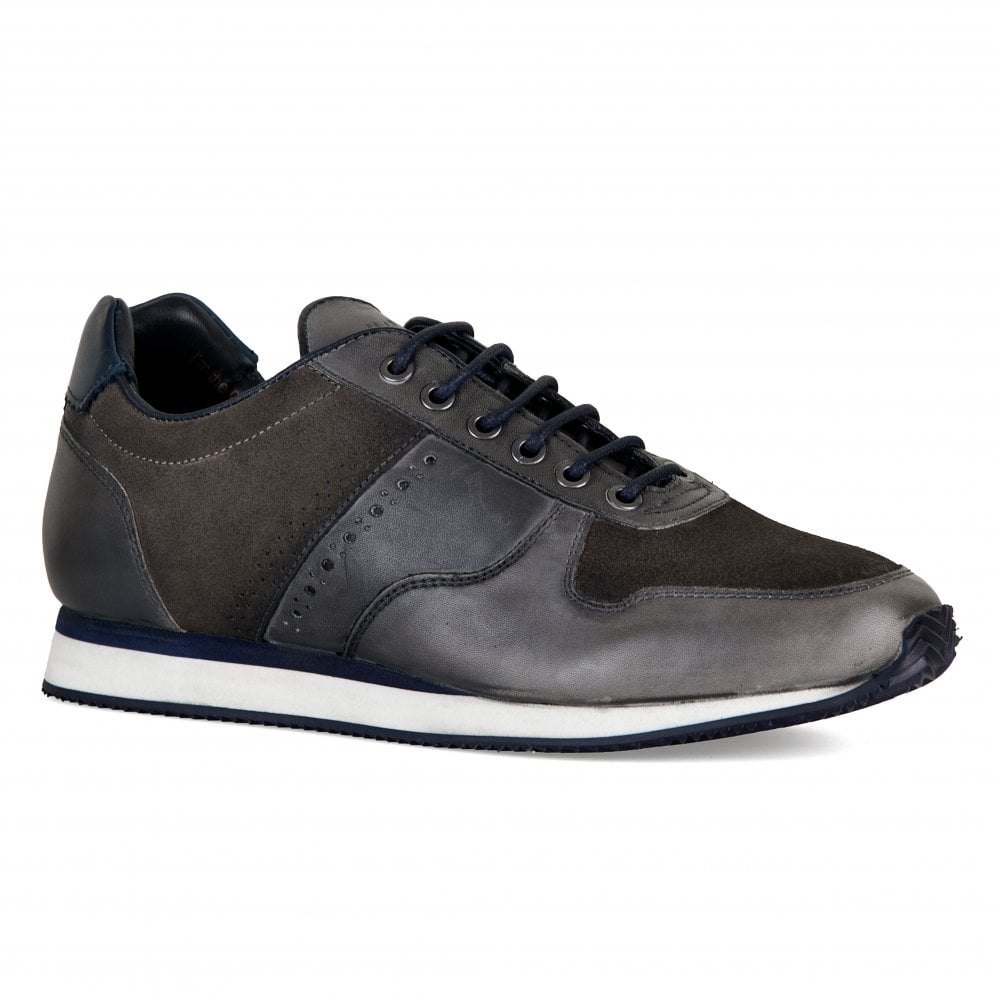 ae7503bfe75a Goodwin Smith Mens Bronx Trainers (Grey) - Mens from Loofes UK