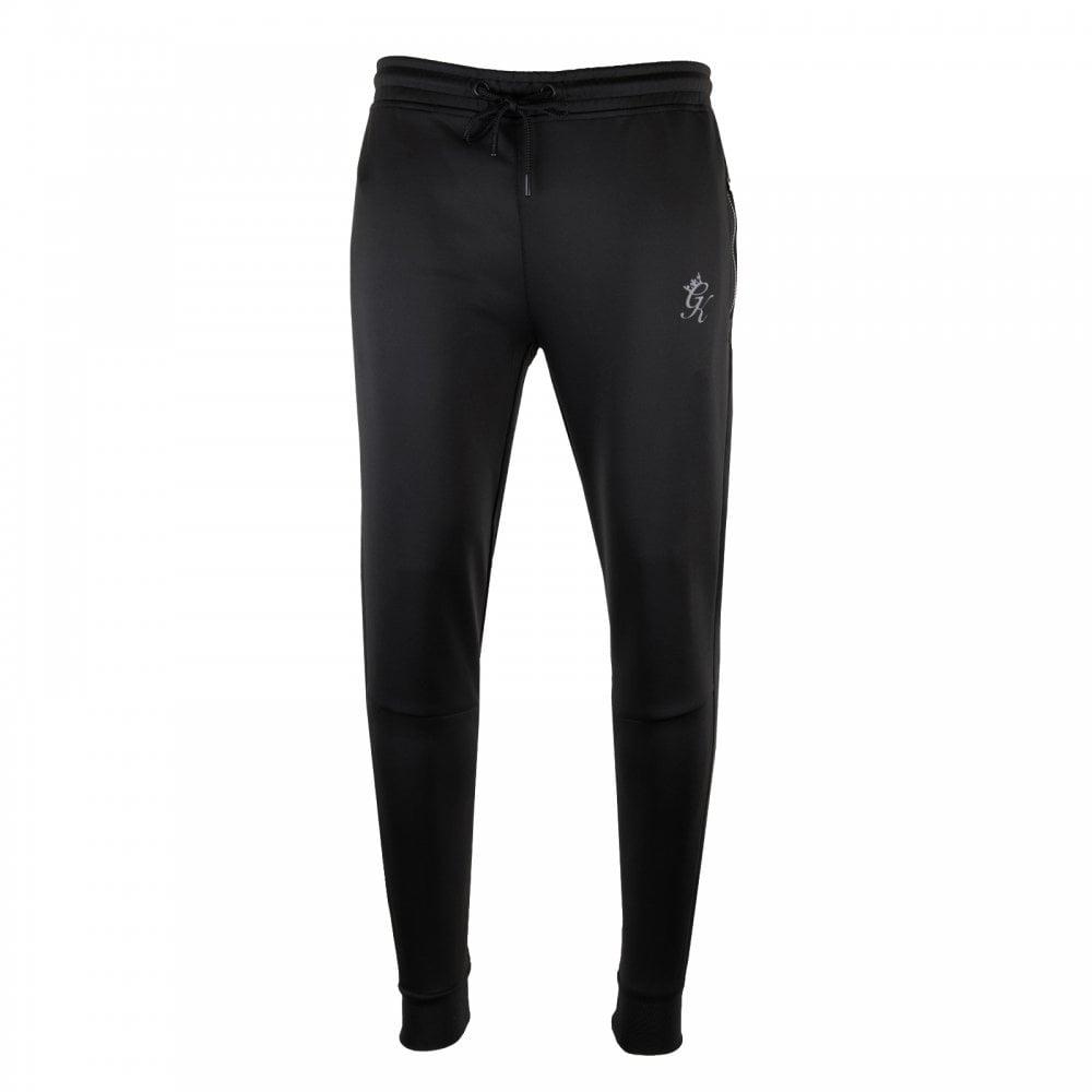 50759789b9e11e GYM KING Gym King Mens Capo Panel Poly Track Pants (Black) - Mens ...
