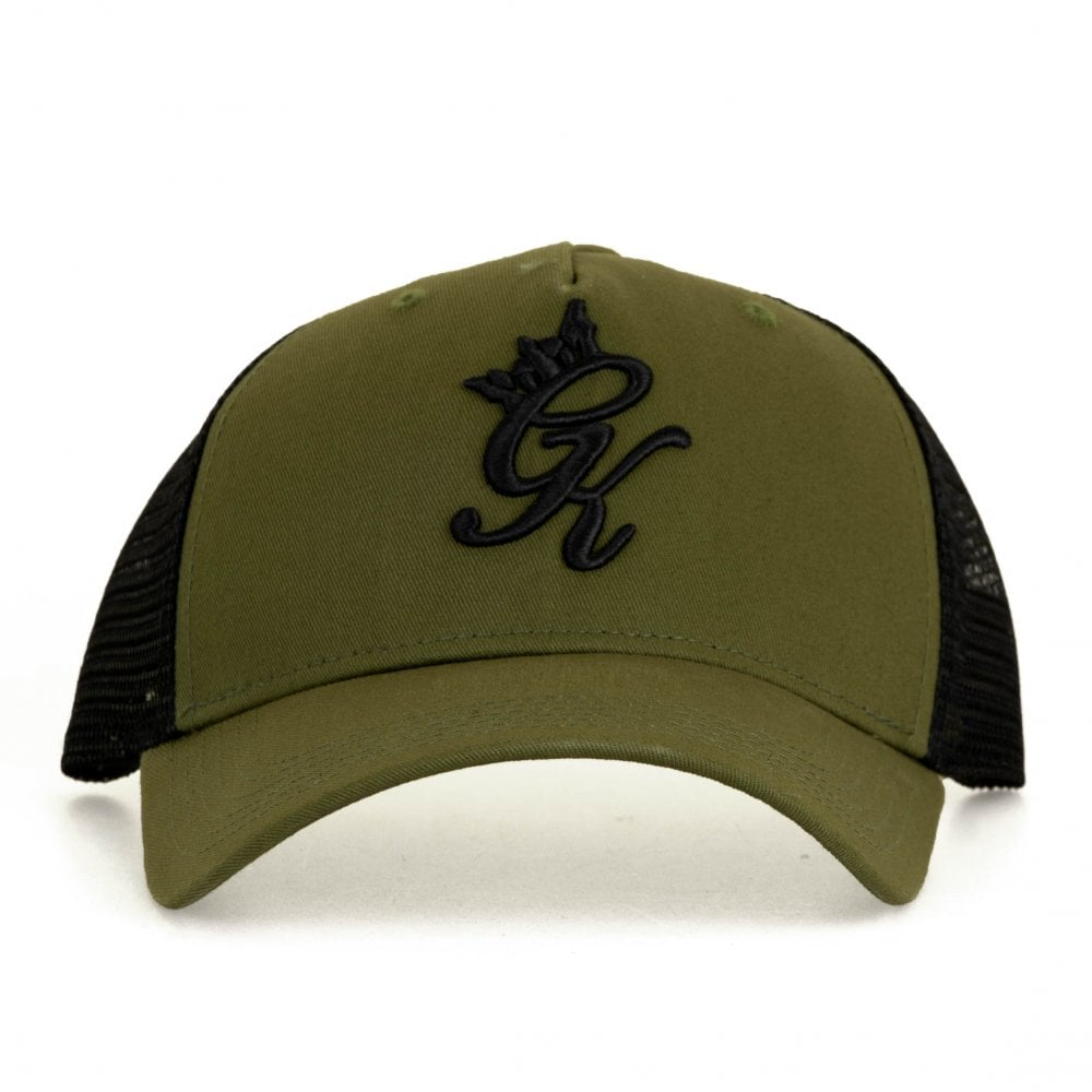 GYM KING Gym King Mens Core Mesh Trucker Cap (Olive) - Mens from ... 03d05dfc3fd