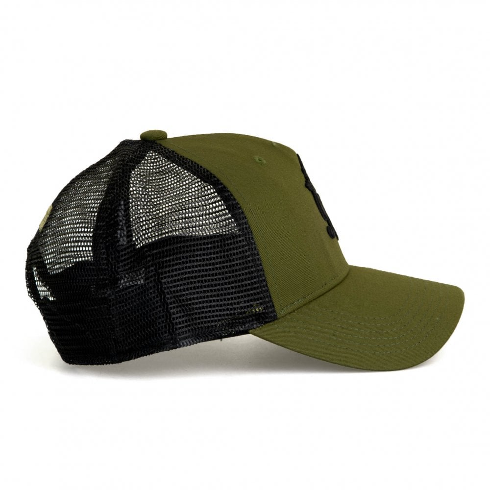 GYM KING Gym King Mens Core Mesh Trucker Cap (Olive) - Mens from ... 07a2289fc85