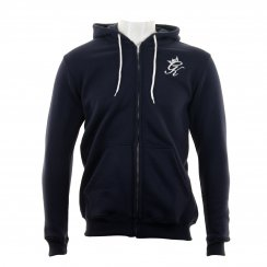 Gym King Mens Fleece Zip Hoody (Navy)