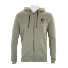 Gym King Mens Full Zip Hoody (Green)