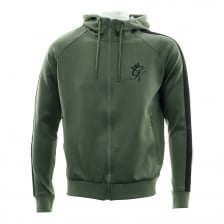 Gym King Mens Polyester Track Top (Khaki)