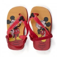 Havaianas Infants Mickey Mouse Sandals (Red)