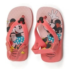 Havaianas Infants Minnie Mouse Sandals (Pink)