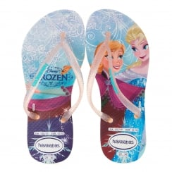 Havaianas Juniors Disney Princess Sandals (White)