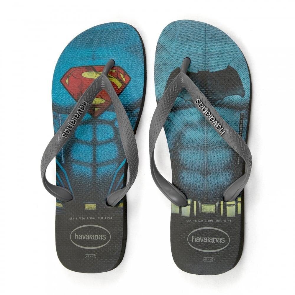 a614f101264f Havaianas Mens Batman Vs Superman Flip Flops (Black) - Mens from ...