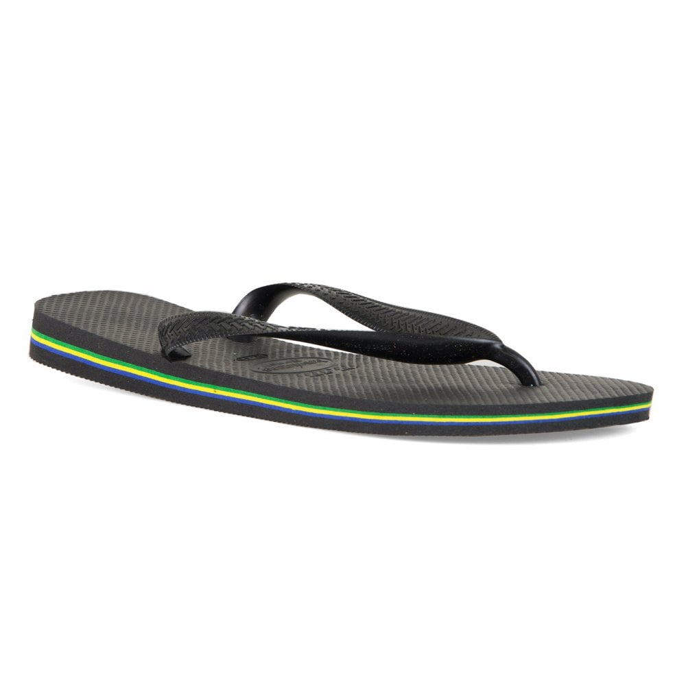 d2fe6a1df Havaianas Mens Brazil Flip Flops (Navy) - Mens from Loofes UK