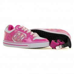 Heelys Juniors Motion Trainers (White/Pink)