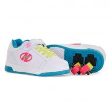 Heelys Juniors X2 Dual Up 317 Trainers (White)